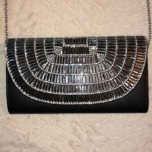 Handbags - Head-turning rhinestone evening bag